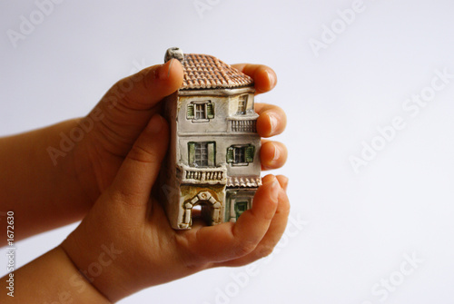 house on hands