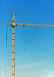 lifting construction crane poster