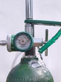 oxygen tank and regulator poster
