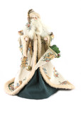 father christmas figure poster