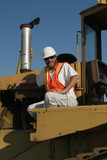 construction worker poster