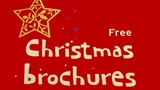 christmas brochures.free .saving money poster