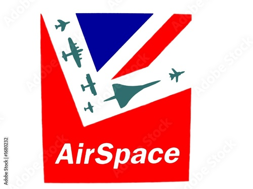 sign in an airport.airspace sign.aircrafts.uk flag