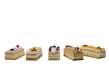 five cakes