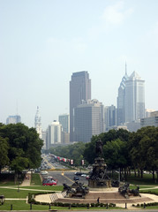 skyline - philadelphia, pa