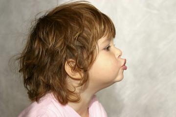 whistling child