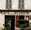Leinwandbild Motiv  french cafe