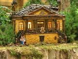cottage replica, bellagio poster