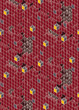 Red graphic seamless pattern with cubes