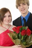 adorable teen couple poster