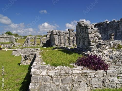 construccion maya