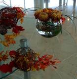 fall foliage table display poster