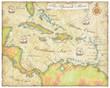spanish main map