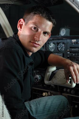 handsome pilot