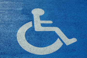 visuel place handicapé