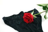 black lace panty poster