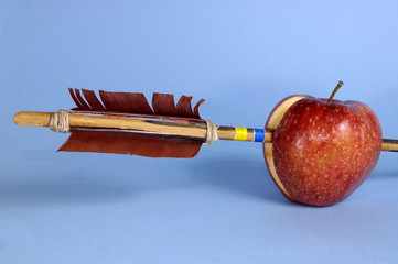 apple and arrow