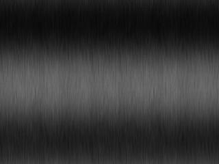 high-grade steel brushed - black