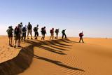 randonneurs dans le désert