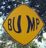 big bump humor poster