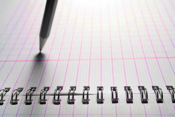 crayon et cahier
