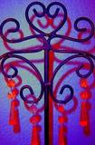 fer forgé en forme de coeur poster