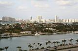 miami city landscape poster