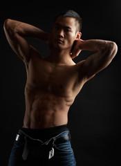 tough asian guy