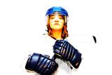 hockey girl #2 poster