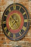 rustic clock poster