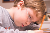 homework boy poster