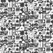 motif symbole gris