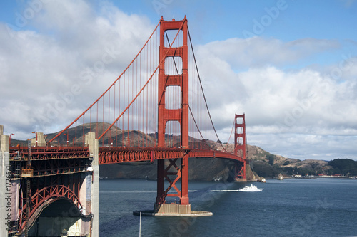 canvas print picture golden gate bridge, san francisco