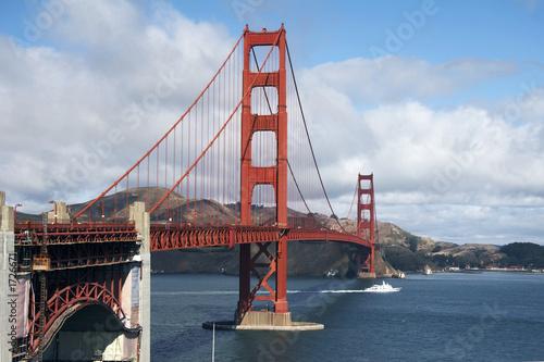 Leinwanddruck Bild golden gate bridge, san francisco
