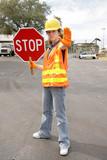 road crew stop full view poster