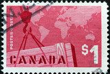 export trade stamp poster