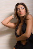 sexy hispanic woman poster