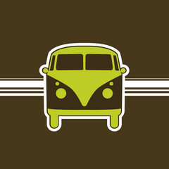 retro minivan