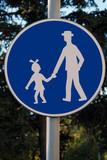 schools road warning sign poster