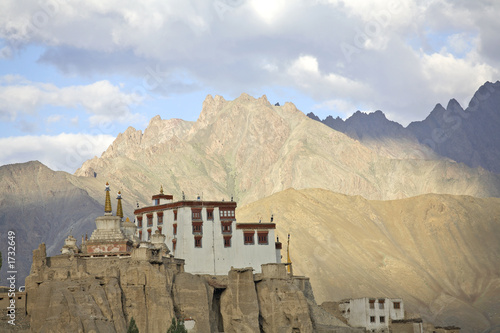 monastery in the himalayas