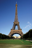 eiffel tower postcard poster