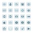 various aqua/glass style web buttons