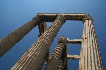 ruins in athens