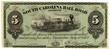 vintage south carolina railroad ticket