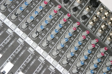 audio board controls