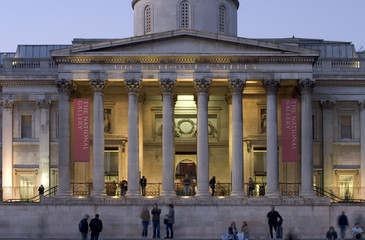national gallery facade