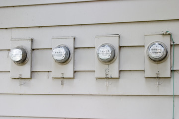 apartment electrical useage meters