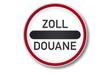 verkehrszeichen 2006: zollstelle