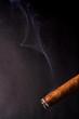 zigarre mit rauch