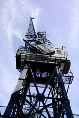 crane in dockyard